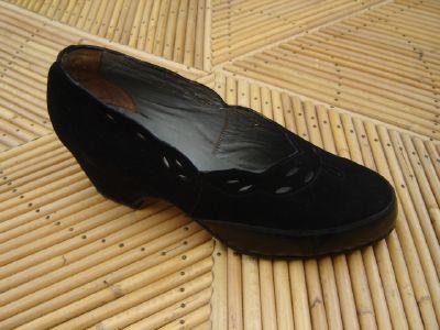 Chaussures vintage ann es 50 - Chaussures annees 50 femme ...