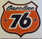 "Sticker ""Gasoline 76"""