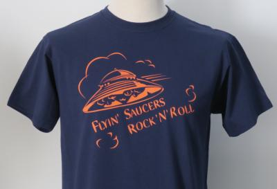 T-shirt Flyin' Saucers Rock'n'Roll