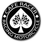 Badge Cafe Racer Racing Motorcycle