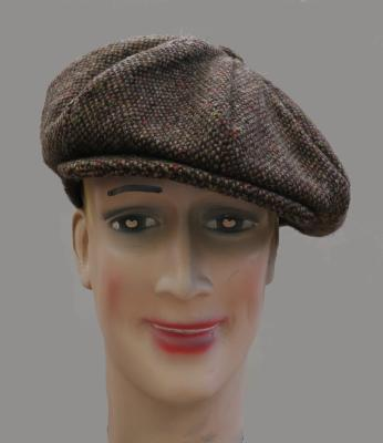 casquette gatsby tweed Hanna Hats of Donegal