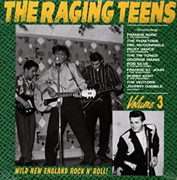 CD The Raging Teens - Volume 3