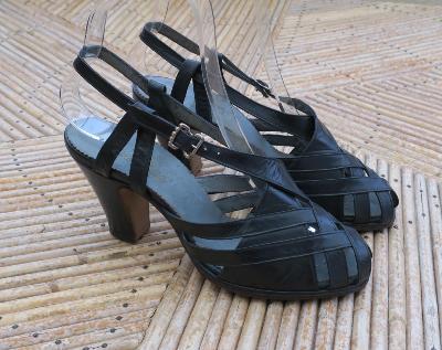 Shoes Rockabilly Chaussures Femme Rétro Rock'n Boutique Women SzGqpVUM