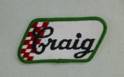 Patch vintage - Craig