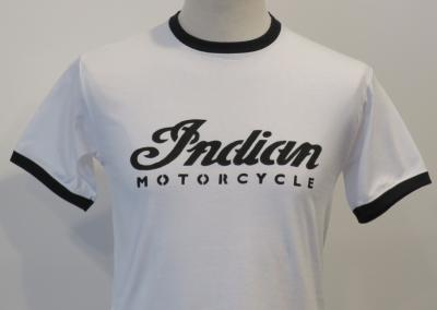 T-shirt Indian Motorcycle - bicolore