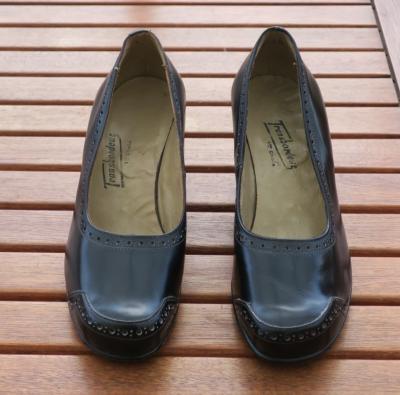 Chaussures Vintage Des Ann 233 Es 40 50 Pointure 35 5