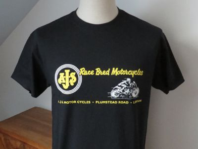 "T-shirt ""Race Bred Motorcycles"" - Taille S"