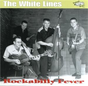 CD - The White Lines - Rockabilly Fever