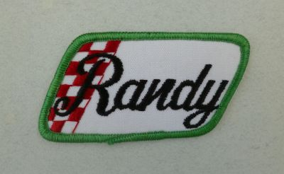 Patch vintage - Randy