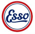 Sticker Esso
