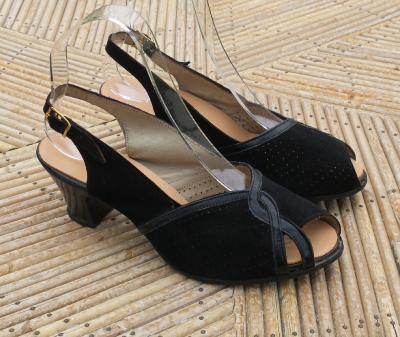chaussures vintage des ann es 50. Black Bedroom Furniture Sets. Home Design Ideas