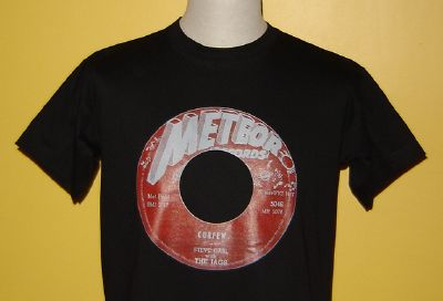 "T-shirt ""Curfew"" Meteor Records"