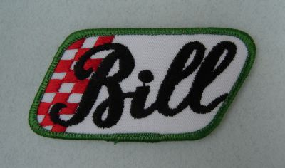 Patch vintage - Bill