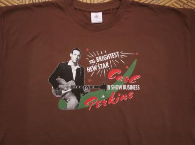 T-shirt Carl Perkins - Taille XL