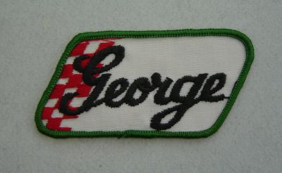 Patch vintage - George