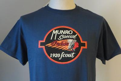 T-shirt Indian Burt Munro