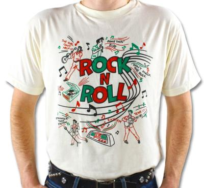 "T-shirt ""Rock'n'Roll"" Atomic Swag - Taille M/L"