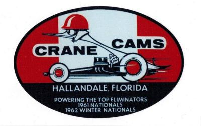 "Sticker ""Crane Cams"""