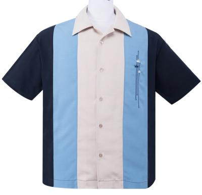 "Chemise Steady Clothing ""Los Reyes Crown"" bleue"