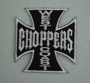 Patch  West Coast Choppers - Noir