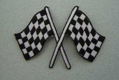 Patch drapeau Hot Rod